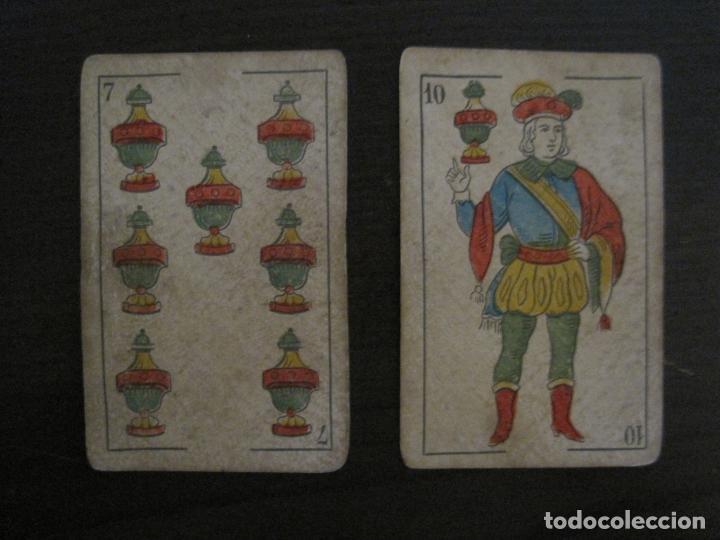Barajas de cartas: BARAJA DE CARTAS ANTIGUA-MANAUT HERMANOS-VALENCIA-40 CARTAS-VER FOTOS-(V-18.789) - Foto 21 - 191495153