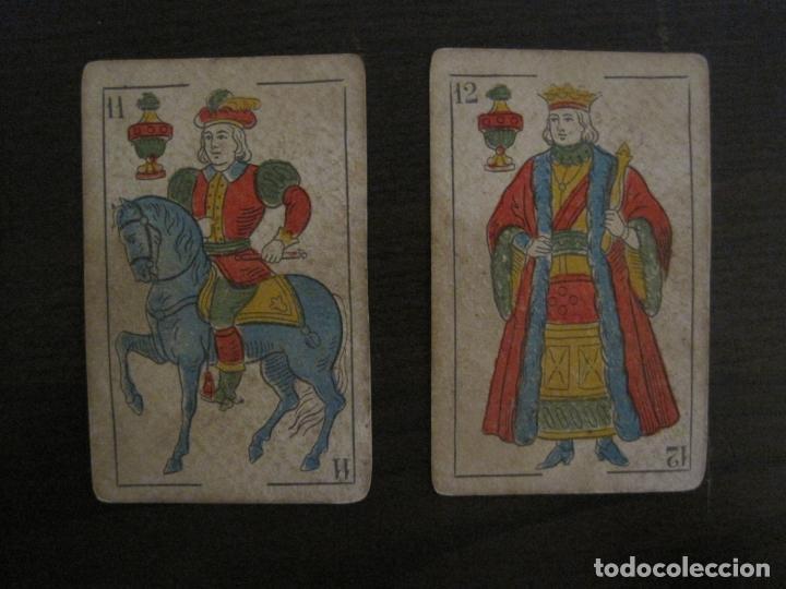 Barajas de cartas: BARAJA DE CARTAS ANTIGUA-MANAUT HERMANOS-VALENCIA-40 CARTAS-VER FOTOS-(V-18.789) - Foto 23 - 191495153