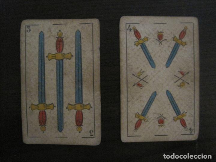 Barajas de cartas: BARAJA DE CARTAS ANTIGUA-MANAUT HERMANOS-VALENCIA-40 CARTAS-VER FOTOS-(V-18.789) - Foto 27 - 191495153