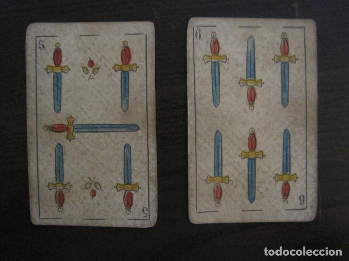 Barajas de cartas: BARAJA DE CARTAS ANTIGUA-MANAUT HERMANOS-VALENCIA-40 CARTAS-VER FOTOS-(V-18.789) - Foto 29 - 191495153