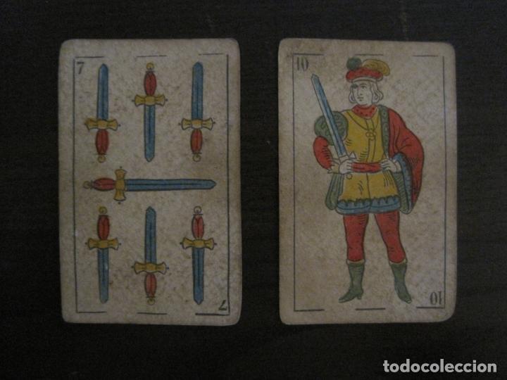 Barajas de cartas: BARAJA DE CARTAS ANTIGUA-MANAUT HERMANOS-VALENCIA-40 CARTAS-VER FOTOS-(V-18.789) - Foto 31 - 191495153