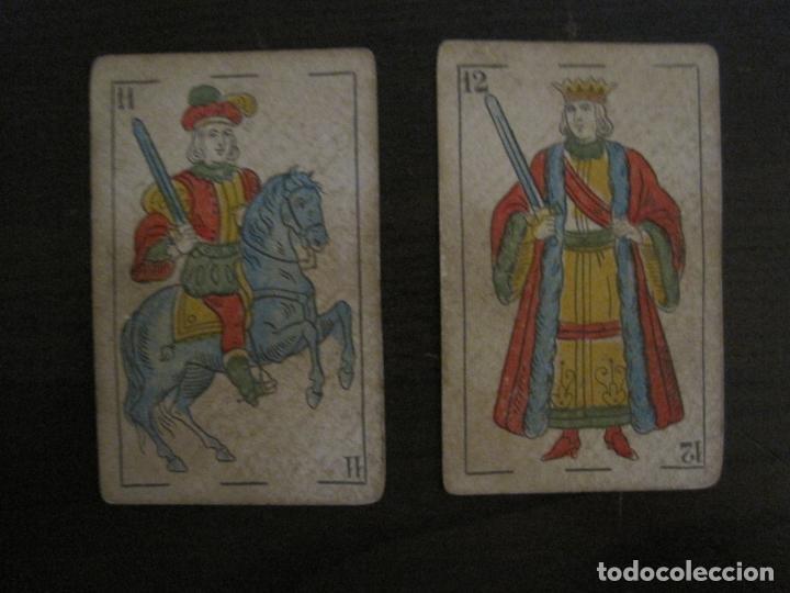 Barajas de cartas: BARAJA DE CARTAS ANTIGUA-MANAUT HERMANOS-VALENCIA-40 CARTAS-VER FOTOS-(V-18.789) - Foto 33 - 191495153