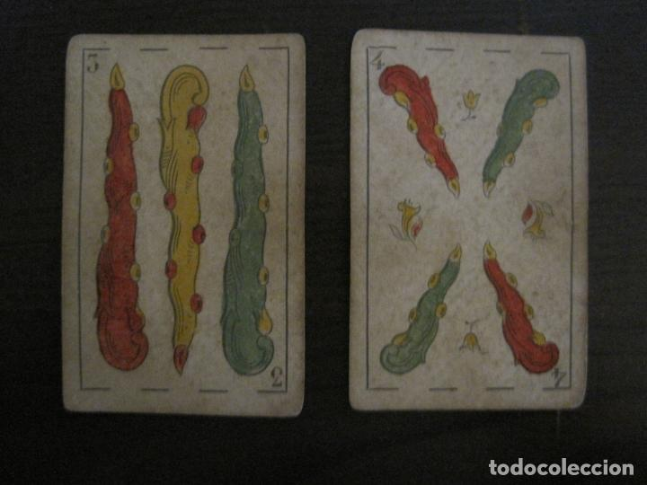 Barajas de cartas: BARAJA DE CARTAS ANTIGUA-MANAUT HERMANOS-VALENCIA-40 CARTAS-VER FOTOS-(V-18.789) - Foto 37 - 191495153
