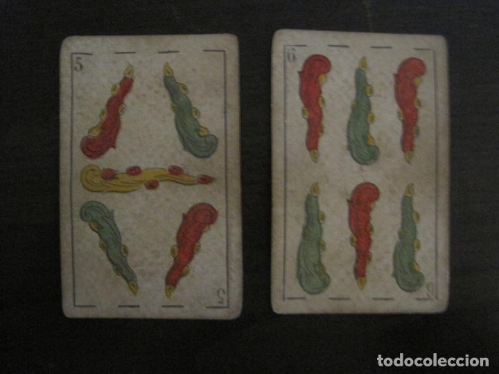 Barajas de cartas: BARAJA DE CARTAS ANTIGUA-MANAUT HERMANOS-VALENCIA-40 CARTAS-VER FOTOS-(V-18.789) - Foto 39 - 191495153