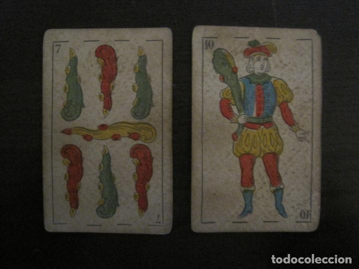 Barajas de cartas: BARAJA DE CARTAS ANTIGUA-MANAUT HERMANOS-VALENCIA-40 CARTAS-VER FOTOS-(V-18.789) - Foto 41 - 191495153