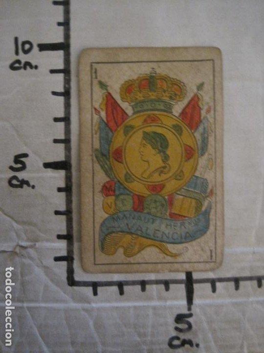 Barajas de cartas: BARAJA DE CARTAS ANTIGUA-MANAUT HERMANOS-VALENCIA-40 CARTAS-VER FOTOS-(V-18.789) - Foto 45 - 191495153