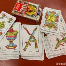 Barajas de cartas: NAIPES O BARAJA ESPAÑOLA FOURNIER, VITORIA. NUM 35. COMPLETA. Lote 191651402