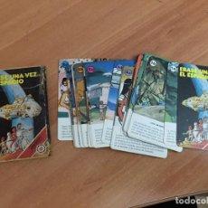Barajas de cartas: ERASE UNA VEZ EL ESPACIO BARAJA FOURNIER COMPLETA 33 CARTAS (CRIP4). Lote 191744396