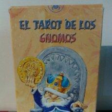 Barajas de cartas: TAROT DE LOS GNOMOS. LO SCARABEO. Lote 191810375