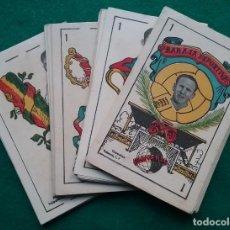 Barajas de cartas: NAIPES BARAJA DEPORTIVA UNIVERSO CARTAS CROMO FUTBOL CIRCA 1940 COMPLETA. Lote 191869456