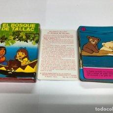 Jeux de cartes: BARAJA COMPLETA CON INSTRUCCIONES SERIE TV EL BOSQUE TALLAC EDITADO POR FOURNIER. Lote 191902428
