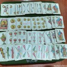 Barajas de cartas: MUY DIFÍCIL ( ANTIGUA BARAJA HERADIO FOURNIER VITORIA EN MINIATURA , VER FOTOGRAFÍAS ).. Lote 191912821