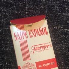 Barajas de cartas: NAIPE ESPAÑOL FOURNIER BARAJA. Lote 191920445