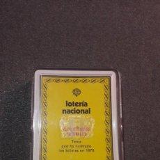 Barajas de cartas: LOTERIA NACIONAL / FOURNIER: LOS RECURSOS NATURALES. BARAJA ESPAÑOLA (1979). Lote 191968073