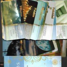 Barajas de cartas: BARAJA DE LOS MILAGROS EN SU CAJA CON LIBRO EXPLICATIVO. . NUEVA. TIKAL. 40 CARTAS.. Lote 192256792
