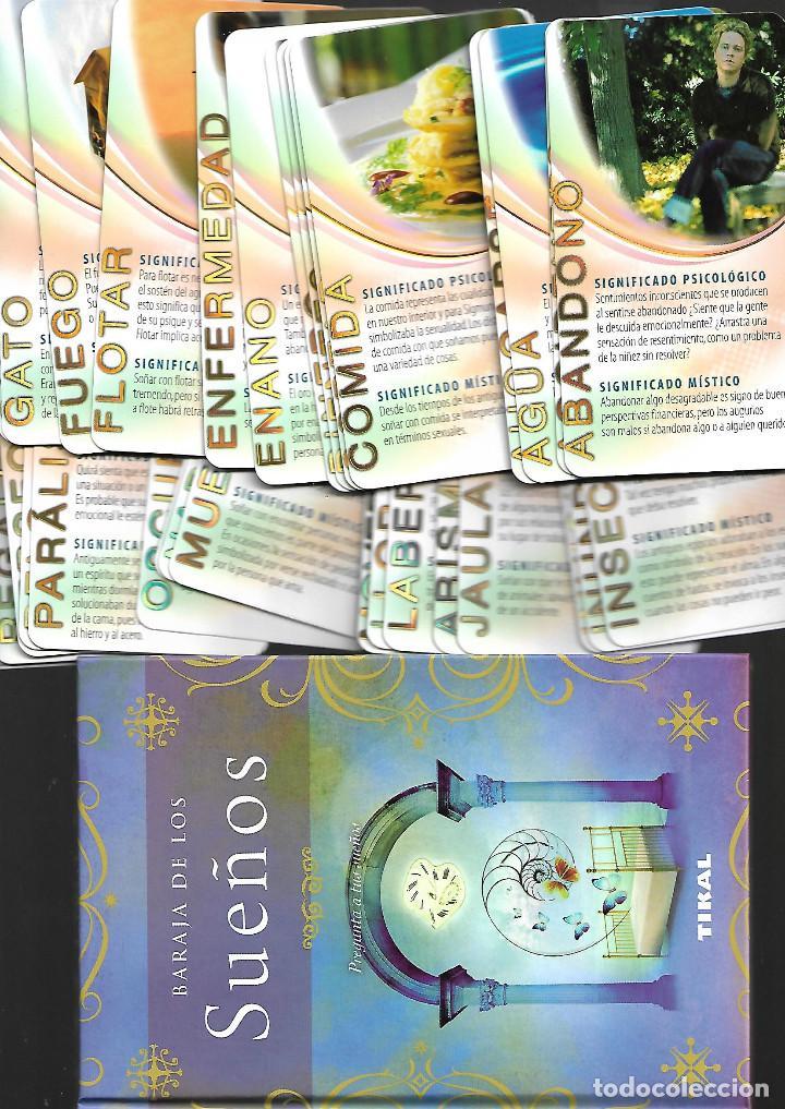 BARAJA DE LOS SUEÑOS PREGUNTA A TUS SUEÑOS COMPLETA CON SU LIBRO (Juguetes y Juegos - Cartas y Naipes - Barajas Tarot)