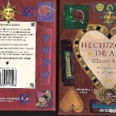 Baralhos de cartas: HECHIZOS DE AMOR LIBRO BARAJA EVEREST. Lote 192264521