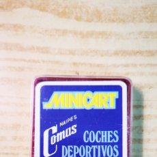 Baralhos de cartas: MINICART COMAS COCHES DEPORTIVOS COMPLETO POR ESTRENAR. Lote 245229955