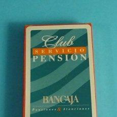 Barajas de cartas: NAIPE ESPAÑOL 40 CARTAS. PUBLICIDAD BANCAJA. NAIPES COMAS. Lote 192483157