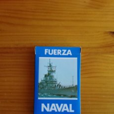 Baralhos de cartas: BARAJA CARTAS HERACLIO FOURNIER FUERZA NAVAL AÑOS 80 NUEVAS. Lote 192717103