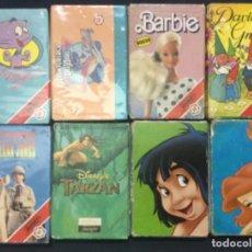 Barajas de cartas: 8 BARAJAS INFANTILES - FOURNIER - NUEVAS PRECINTADAS Y COMO NUEVAS. Lote 192785857
