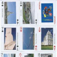 Barajas de cartas: BARAJA TURISTICA DE PORTUGAL. Lote 192816875