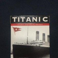Barajas de cartas: BARAJA DE 54 CARTAS CONMEMORANDO EL TITANIC - PRECINTADA - PIATNIK NO. 1423. Lote 192867597