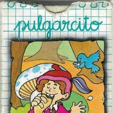 Barajas de cartas: BARAJA INFANTIL PULGARCITO - NAIPES COMAS - BARCELONA, 1968 - COMPLETA!!!. Lote 192871451