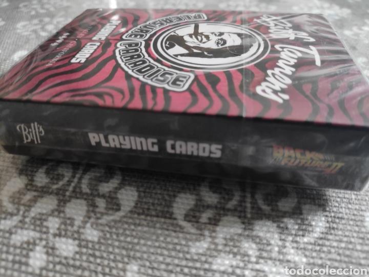 Barajas de cartas: Baraja de cartas poker Regreso al futuro II Biff Tannen pleasure paradise nuevo - Foto 6 - 217543988