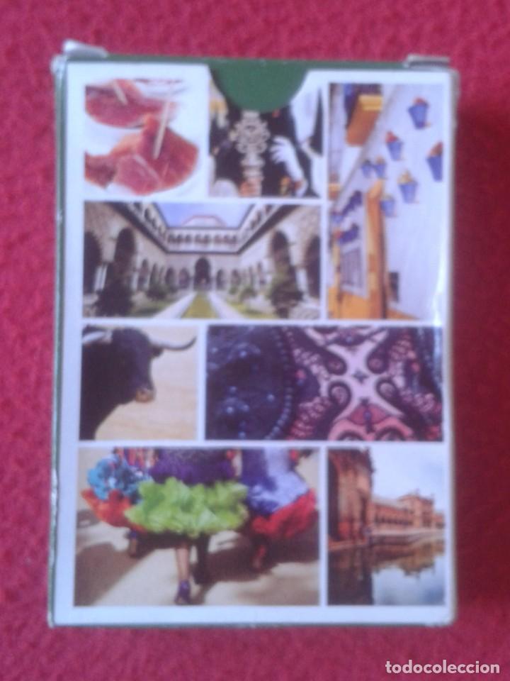 Barajas de cartas: BARAJA DE CARTAS PLAYING CARDS POKER ANDALUCÍA, PRECINTADA, SIN USO, MADE IN SPAIN, DE VARITEMAS.... - Foto 2 - 192891078
