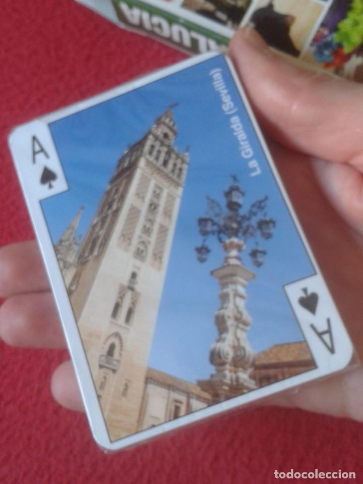 Barajas de cartas: BARAJA DE CARTAS PLAYING CARDS POKER ANDALUCÍA, PRECINTADA, SIN USO, MADE IN SPAIN, DE VARITEMAS.... - Foto 5 - 192891078