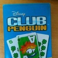 Barajas de cartas: CLUB PENGUIN CARTAS . Lote 192903532
