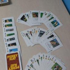 Barajas de cartas: BARAJA ESPAÑOLA PERRY NAT AÑO 1986 , INCOMPLETA FALTAN 2 CARTAS. Lote 192954402