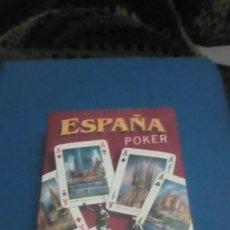 Barajas de cartas: BARAJA DE CARTA NUEVA PRECINTADA. ESPAÑA POKER 200 ANIVERSARIOS. Lote 193039003