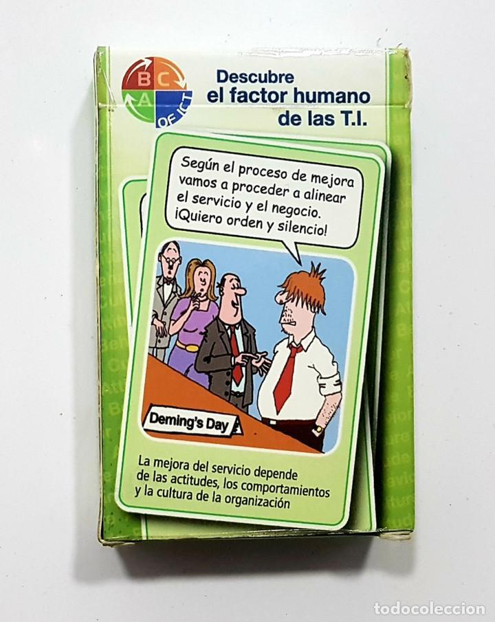 Barajas de cartas: ITIL BEST PRACTICE Descubre el factor humano de las T.I. Cartas baraja (la vida misma,espectacular) - Foto 2 - 193079851