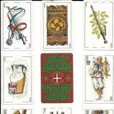 Barajas de cartas: == NA01 - NAIPES - BARAJA DE CARTAS DE HERACLIO FOURNIER - EUSKADI. Lote 193081261