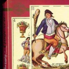 Barajas de cartas: BARAJA ESPAÑOLA-GOYESCA 1815- 50 CARTAS FOURNIER.- RARA. Lote 193091651