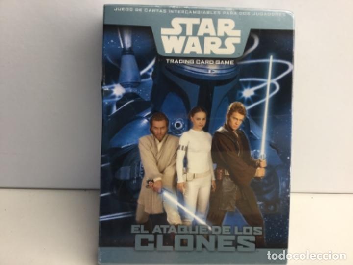 Barajas de cartas: STAR WARS TRADINNG CARD GAME - EL ATAQUE DE LOS CLONES - Foto 4 - 222728291