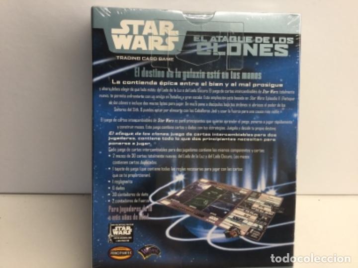 Barajas de cartas: STAR WARS TRADINNG CARD GAME - EL ATAQUE DE LOS CLONES - Foto 5 - 222728291
