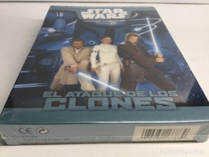 Barajas de cartas: STAR WARS TRADINNG CARD GAME - EL ATAQUE DE LOS CLONES - Foto 3 - 222728291