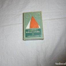 Baralhos de cartas: LA AUTENTICA BARAJA CANARIA.Nº 5 SERIE HISTORICA TIENE LAS 40 CARTAS.JUGADA. Lote 193251253