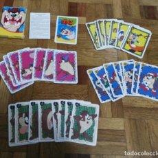 Barajas de cartas: BARAJA DE CARTAS TAZ LOONEY TUNES FORUNIER. Lote 193277161