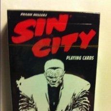 Barajas de cartas: SIN CITY - (DARKHORSE 2014 - PRECINTO--POKER. Lote 193312815