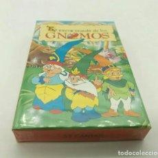 Barajas de cartas: BARAJA DE CARTAS FOURNIER - EL NUEVO MUNDO DE LOS GNOMOS. Lote 193344615