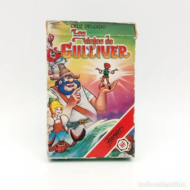 BARAJA FOURNIER LOS VIAJES DE GULLIVER - NUEVA (Juguetes y Juegos - Cartas y Naipes - Barajas Infantiles)