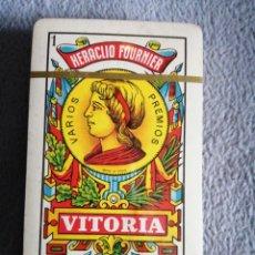 Barajas de cartas: HERACLIO FOURNIER VITORIA N° 1 50CARTAS NUEVA PRECINTADA. Lote 193415896