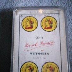 Barajas de cartas: BARAJA NUEVA FOURNIER DE PUBLICIDAD COMAR. Lote 193418215
