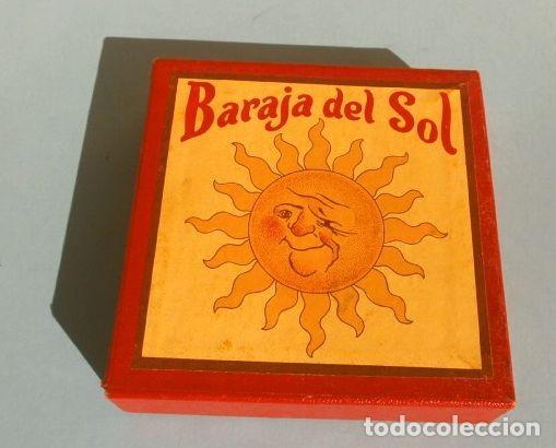 Barajas de cartas: BARAJA DEL SOL - JUEGO DESTREZA (muy RARO) SUN CARDS AN OLD FAR WEST PLAY - años 50 ed. Billy Ross - Foto 7 - 193427940