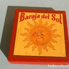 Barajas de cartas: BARAJA DEL SOL - JUEGO DESTREZA (MUY RARO) SUN CARDS AN OLD FAR WEST PLAY - AÑOS 50 ED. BILLY ROSS. Lote 193427940