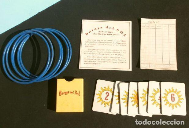 Barajas de cartas: BARAJA DEL SOL - JUEGO DESTREZA (muy RARO) SUN CARDS AN OLD FAR WEST PLAY - años 50 ed. Billy Ross - Foto 4 - 193427940